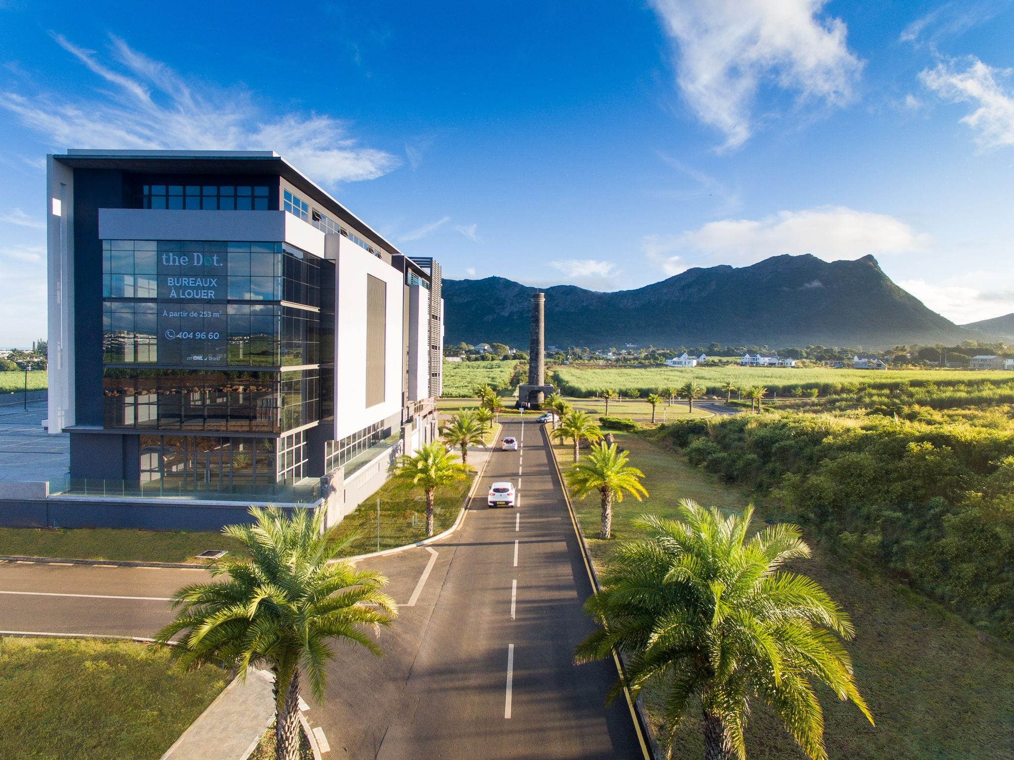 offices for rent, work in moka, bowmans, The Dot, moka smart city,mount ory
